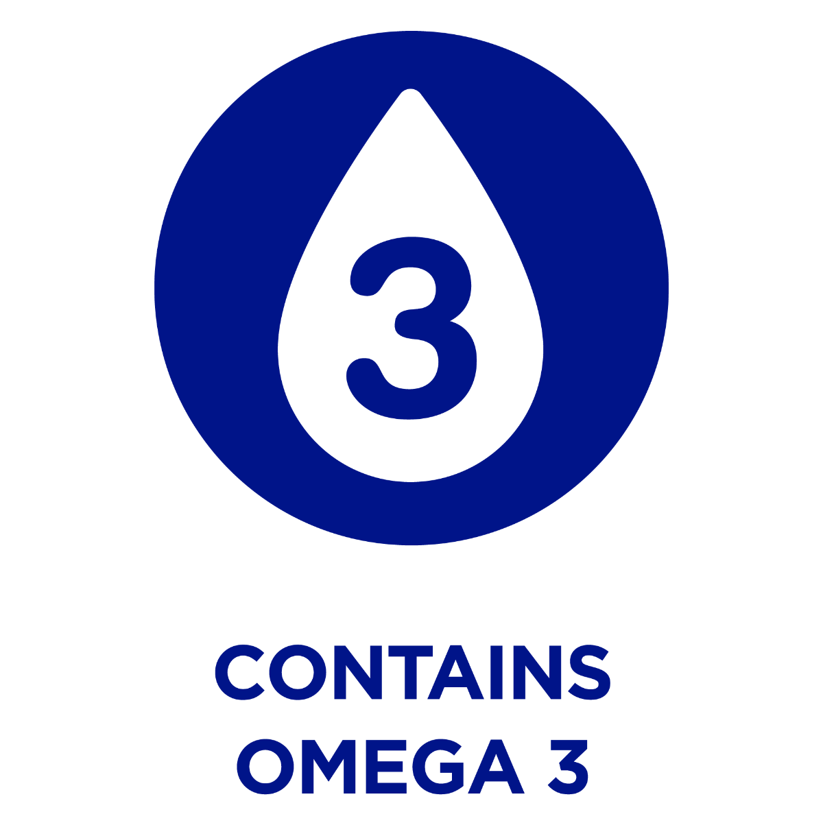 Contains Omega 3