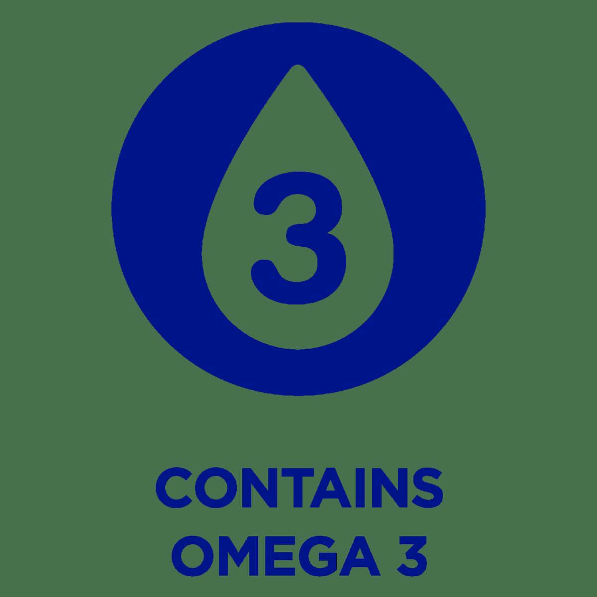 Contains Omega 3